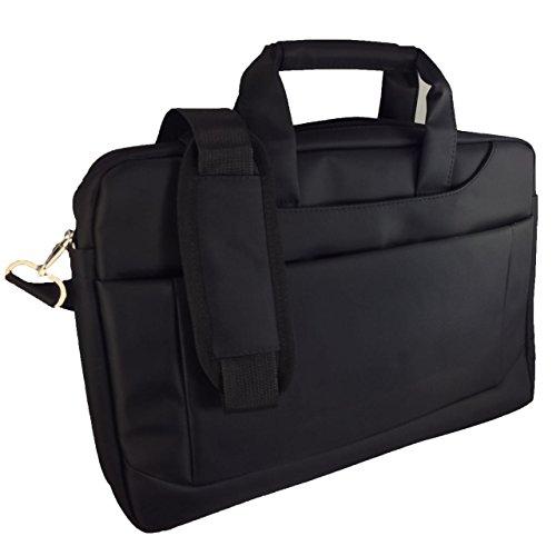 Laptoptasche für ASUS VivoBook Max X541UA-GQ871T Businesstasche / Aktentasche / Notebooktasche mit Schultergurt - LB Schwarz 6 DjhCP
