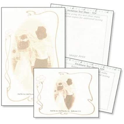 Amazon Com Create Your Own Wedding Invitation Kit Case Pack 10