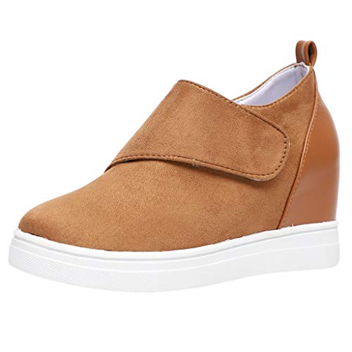 Orchid Pendant Lighting - Kauneus  Wedgie Sneakers Platform High Top Wedge Booties Slip on Heeled Hollow Out Ankle Boots Brown