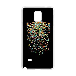 Samsung Galaxy Note 4 Cell Phone Case White Fractured Unifications WH9481183