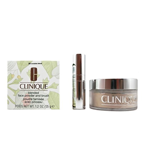 Clinique Blended Face Powder and Brush, Shade 20, 1.2 (Blended Face Powder)