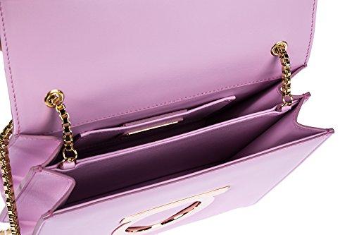 Salvatore Ferragamo borsa donna a tracolla pelle borsello thalia rosa