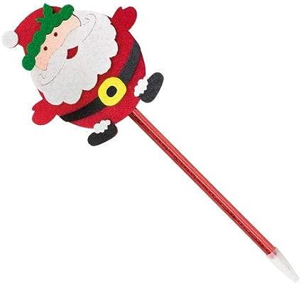 DISOK Lote de 50 Bolígrafos Noel - Bolígrafos Navidad ...