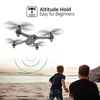 HIOTECH Brushless Drone Bugs Series Brushledd GPS WiFi 1080P Camera Drone with Long Flying time & LED Light Assist Night Flight by HIOTECH