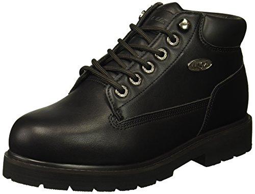 Lugz Men's Drifter Mid Steel Toe Fashion Boot, Black, 9 D US ()