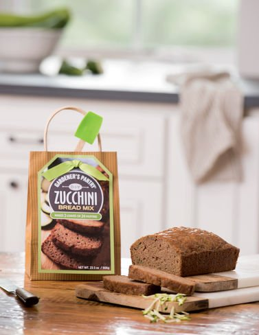 DIY Zucchini Bread Mix