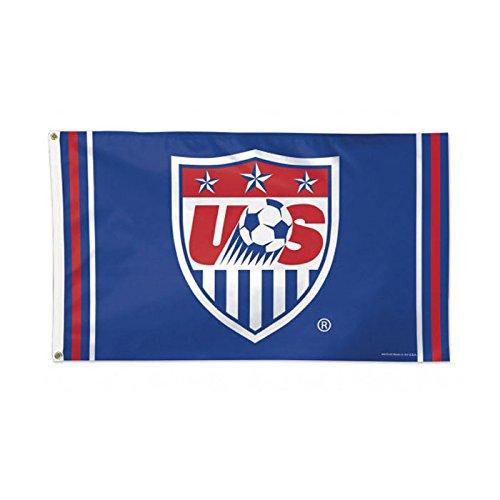 (US National Team - 3 ft x 5 ft Soccer Flag (Blue))
