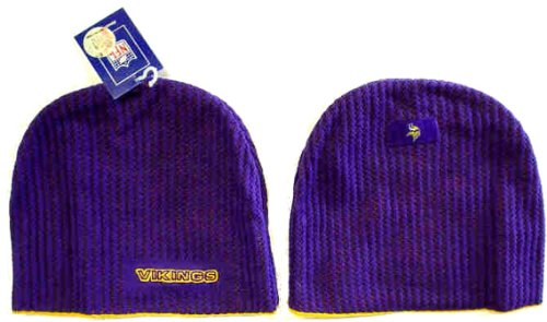 Minnesota Vikings Samos Knit Stocking Cap Hat/Cap (Nfl Stocking Hats Vikings)