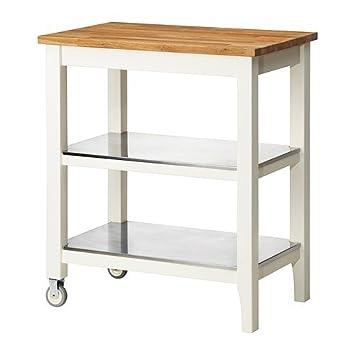 IKEA Cocina carro, blanco, roble 2214.8112.610: Amazon.es: Oficina y papelería