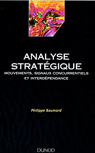 analyse strategique mouvements signaux concurrentiels et interdependance