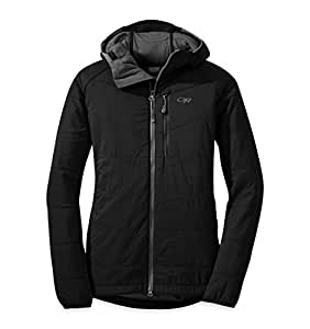 Outdoor Research Women's Uberlayer Hooded Jacket, Black, X-Small