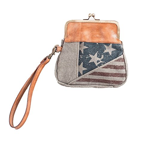 Mona B Patriot Wristlet Bag...