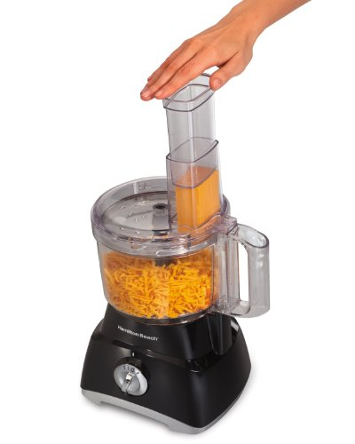 Hamilton Beach 70740 8-Cup Food Processor, Black