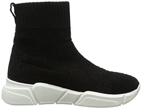 Bronx a Voyager Black Alto 01 Donna Sneaker Collo Nero RqRPEnrz