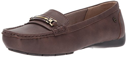 Slip Loafer LifeStride Chocolate Vanity Women's On AxwxYgEq