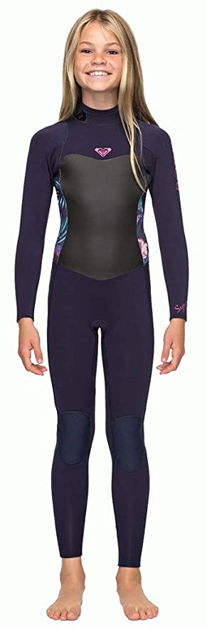 Amazon.com  Roxy Girls Girl s 7-14 3 2Mm Syncro Series Back Zip GBS ... bdf9e74b2
