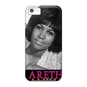 Premium Phone Case For Iphone 5c/ Aretha Franklin Tpu Case Cover Kimberly Kurzendoerfer