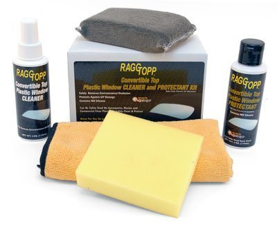 - Raggtopp Convertible Top Plastic Window Cleaner and Protectant Kit 01162