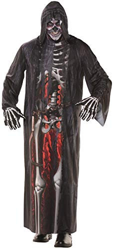 Underwraps Men's Grim Reaper Robe