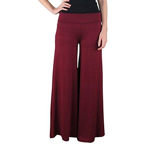 GGTBOUTIQUE - Pantalón - para mujer Rojo