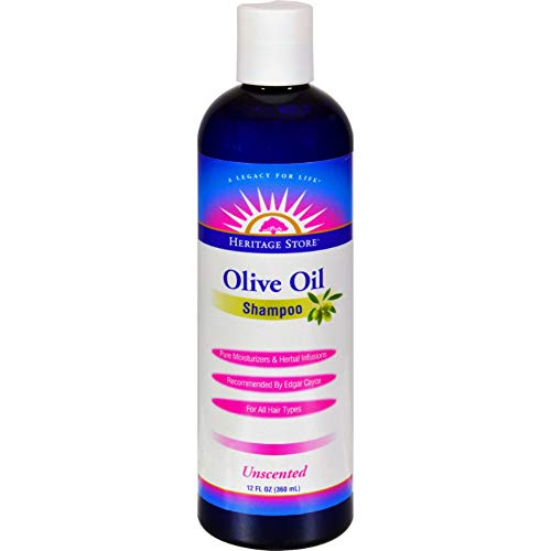 Heritage Olive Store Oil - Heritage Products Olive Oil Shampoo Unscented -- 12 fl oz