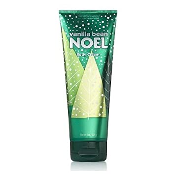 Bath Body Works Holiday Traditions Vanilla Bean Noel Body Cream, 8 oz. 226 g , 2008 Edition