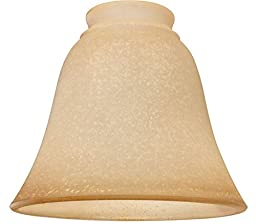 Ellington 635T Bell Shaped Ceiling Fan Glass Shade with 2 1/4\