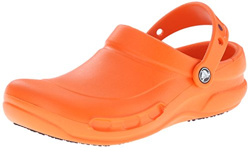 crocs Bistro Mario Batali Edition Clog, Orange, 8 US Men's / 10 US Women's by Crocs