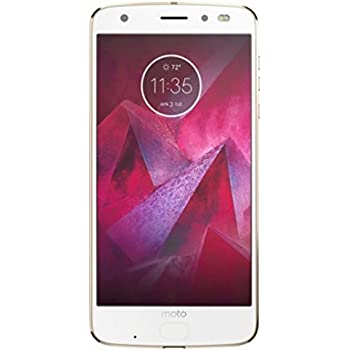 Motorola Moto Z2 Force Droid Edition 64GB Unlocked GSM/CDMA (LTE 1, 12, 13, 17, 2, 20, 25, 26, 28, 3, 4, 5, 66, 7, 8) (Fine Gold)