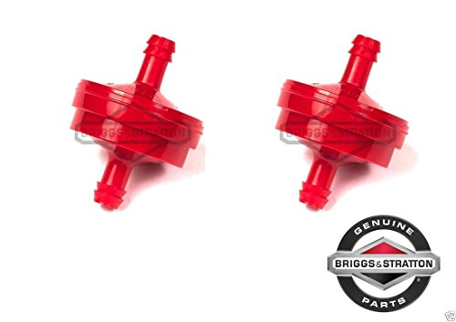 Briggs & Stratton 298090S Pack of 2 Fuel Filters - 150 Micron