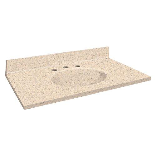 Samson ITB4322-67-8C Solid Surface 43x22 Chelsea Vanity T...