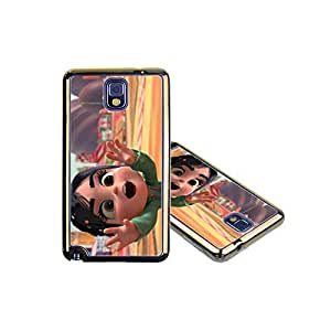 Wreck-It Raph Samsung Galaxy Note 3 Funda Case Cover, Durable Plastic Protector Golden Edge Ultra Slim Printed Snap-On Funda Cases for Samsung Galaxy Note 3 - Cartoon Movie