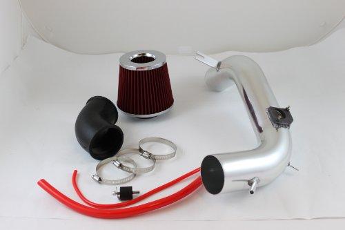 "Velocity Concepts 3"" Red JDM Cold Air Intake Induction Kit +Filter For Mazda 03-08 Mazda6 6 3.0L V6"