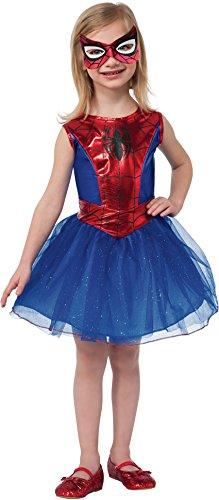 Spider Man Classic Costumes (Rubie's Marvel Universe Classic Collection Spider-Girl Costume, Child Medium)