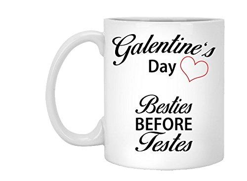 Unbiological Sister Mug, Valentine Galentine Day, Best Friend Gift, BFF Tribe Soul Friends Sorority, Coffee Tea White Ceramic, 11oz, 15oz, gift