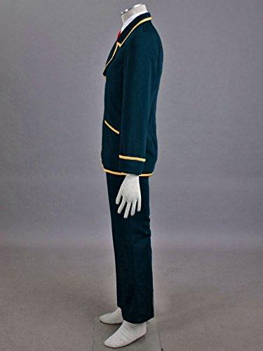 Mtxc Men's Love, Elections & Chocolate Cosplay Costume Ohjima Yuuki School Uniform Size XXX-Large Blue by Mtxc (Image #4)
