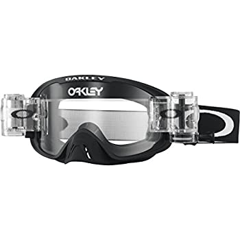 0e75864f3b Oakley O2 MX Race Ready Men's Dirt Off-Road Motorcycle Goggles Eyewear - Matte  Black/Clear/One Size Fits All