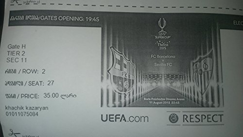 Barcelona vs Sevilla tickets