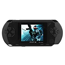 Holiday Deal - JouerNow Black PXP 3 Handheld Slim 16 Bit Game Console Retro Video Game 150+ Games