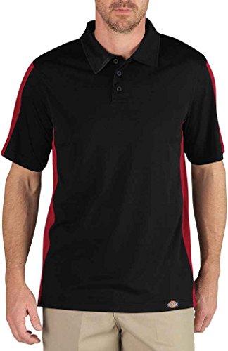 Dickies - - LS424 Herrenindustrie Color Block-Polo-Hemd, X-Large, Black