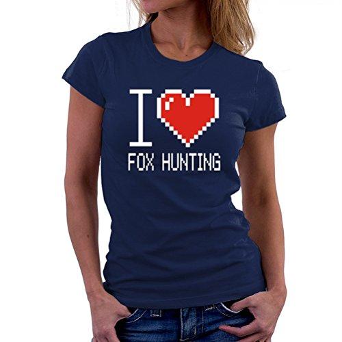 I love Fox Hunting pixelated T-Shirt
