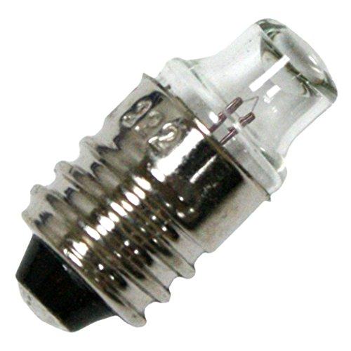 MINIATURE LAMP TEN PACK #222 2.25V .25AMP MINI SCREW ()