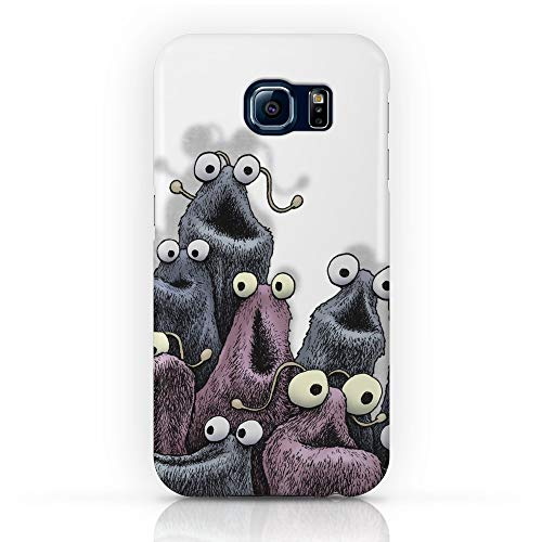 Snap Yip (Society6 Galaxy S8 Cases, Featuring Yip Yip (White Background) by eenkist)