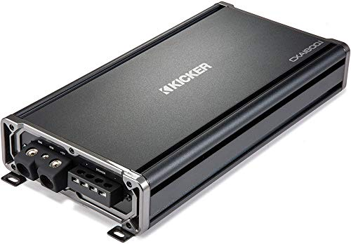 Kicker CX Series CX1800.1 1800W Mono Class D Mosfet Full-Range Car Amplifier