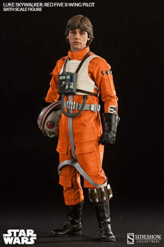Sideshow Star Wars Episode IV A New Hope: Luke Skywalker Red-Five X-Wing Sixth Scale 12'' Action Figure Exclusive Version by Sideshow (Image #1)
