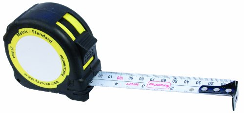 LaserJamb ProCarpenter PMS25 Pad Metric Standard Tape Measure ()