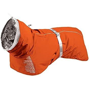 Hurtta Extreme Warmer Dog Winter Jacket, Orange, 24 in