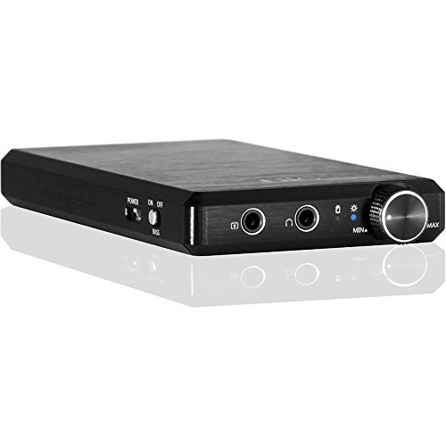 FiiO E12 MONT BLANC Rechargeable USB Portable Headphone Amplifier (Black)