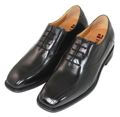 Toto-f6702-3 Pouces Hauteur Plus En Plus Ascenseur Chaussures-robe De Danse Noire Chaussures W / Semelle En Cuir