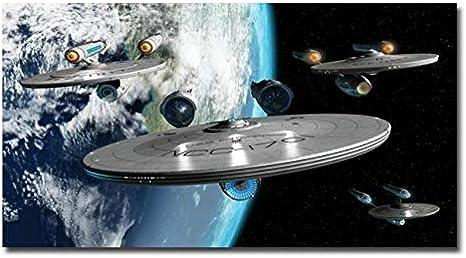 Kit de Pintura con Diamantes Completo Taladro 5D Diamond painting Talla Grande Nave Espacial Crystal Rhinestone Bordado Decoración de Pared de Salón de Taladro Cuadrado 60x180cm H17214